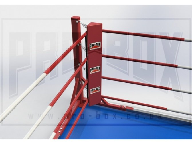 PRO BOX PERMANENT FLOOR FIXED RING - WITH MATS