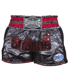Sandee Black/Carbon/Red Supernatural Power Shorts