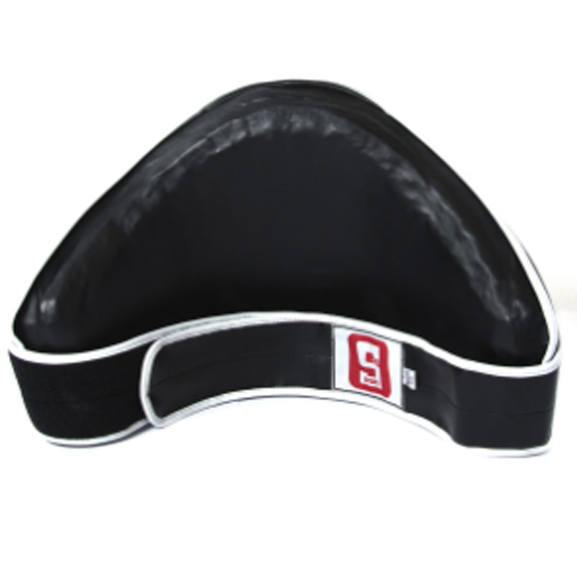 Sport Velcro Belly Pad - Synthetic Leather