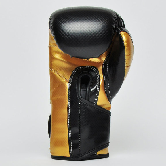 Tuf Wear Victor Training Boxing Gloves, Black/Gold