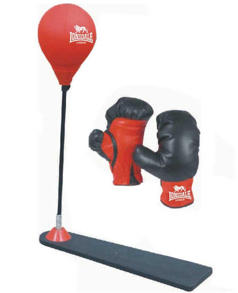 Buy the Lonsdale Jab Junior Punch Ball Set online at Fight Outlet