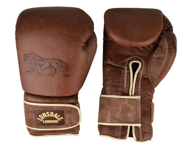 BOXING  MITTS BLACK LEATHER