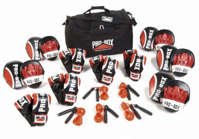 Pro Box 15 Person Training Pack