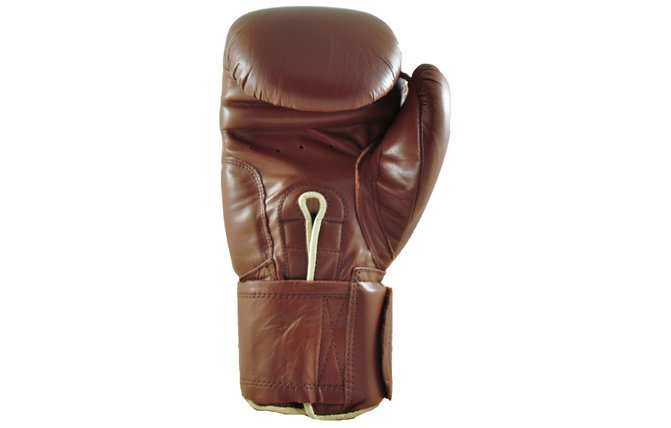 Tufwear Boxing Gloves Leather Classic Brown Spar Training Glove