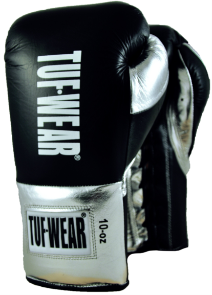 Bag and Mitts Tuf Wear Kids Junior Black Boxing Set Gloves