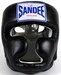 Sandee Kids Closed Face Head Guard - Synthetic Leather Black  Thumbnail