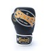 Sandee Cool-Tec Velcro 3 Tone Synthetic Leather Kids Boxing Gloves Black/Gold/White  Thumbnail