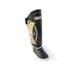 Sandee Kids Cool-Tec Boot Shin Guards Synthetic Leather Black/Gold/White Thumbnail