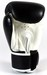 Sandee Velcro 2 Tone Boxing Gloves Leather - Black/White Thumbnail