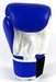 Sandee Velcro 2 Tone Boxing Gloves Leather - Blue/White Thumbnail