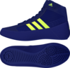 Adidas Havoc Kids Lace Boxing Boot Mystery Ink/Yellow Thumbnail