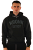 KRONK Detroit Applique Hoodie Regular Fit Black with Charcoal logo Thumbnail