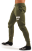 Kronk Detroit Joggers Regular Fit Military Green with White Applique logo Thumbnail