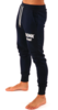 Kronk Detroit Joggers Regular Fit Navy with White Applique logo Thumbnail