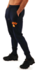 Kronk Gloves Joggers Regular Fit Navy with Red & Yellow Applique logo Thumbnail