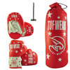 Tuf Wear Kids Junior Boxing Set, Red Thumbnail