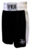 Tuf Wear Kids Junior Club Boxing Shorts, Black/White Thumbnail