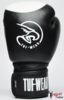 Tuf Wear Target Leather Safety Spar Boxing Gloves Black/white Thumbnail