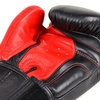 BGVL8 Twins Red-Black 2-Tone Boxing Gloves Thumbnail