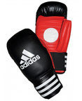 View the Adidas Boxing Coach Spar Gloves - Black/Red online at Fight Outlet