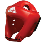 View the Adidas ROOKIE Head Guard CE Red online at Fight Outlet