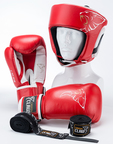 View the Carbon Claw AMT Boxing Set Red  online at Fight Outlet