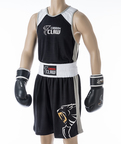 View the Carbon Claw AMT Premium Club Boxing Short Black online at Fight Outlet