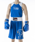 View the Carbon Claw AMT Premium Club Short Blue online at Fight Outlet