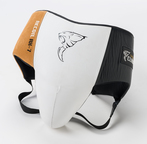 View the Carbon Claw Recoil RX-7 Abdominal Guard White/Black/Gold  online at Fight Outlet
