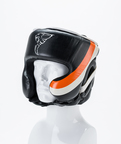 View the Carbon Claw Head Guard Adjustable Black/Orange  online at Fight Outlet