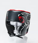 View the Carbon Claw Granite GX-5 Adjustable Head Guard Black/Red online at Fight Outlet
