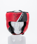 View the Carbon Claw Impact GX-3 Cheek Protector Headguard Red/Black online at Fight Outlet