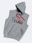 View the Carbon Claw Hoodie - Sleeveless, Grey online at Fight Outlet
