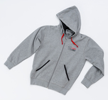 View the Carbon Claw Hoodie - Zip Up/Long Sleeve Grey  online at Fight Outlet