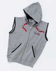 View the Carbon Claw Hoodie  Zip Up Sleeveless, Grey online at Fight Outlet