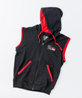 View the Carbon Claw Hoodie Zip Up Sleeveless, Black online at Fight Outlet