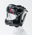 View the Carbon Claw Razor Pro RX Front Bar Headguard Black/White online at Fight Outlet