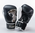 View the Carbon Claw Razor RX Pro Thai Sparring Glove Black/White online at Fight Outlet