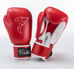 View the Carbon Claw AMT CX-7 Spar Glove Leather Red  online at Fight Outlet