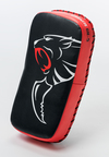 View the Carbon Claw Thai Pad Curved Black/Red online at Fight Outlet