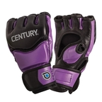 View the Century Drive Ladies MMA Training Gloves Black/Purple online at Fight Outlet