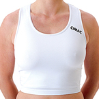 View the Cimac Maxi Guard Sports Bra (Vest) - White online at Fight Outlet