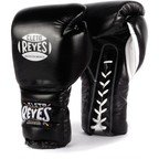 View the Cleto Reyes Black Lace up Sparring Boxing Gloves online at Fight Outlet
