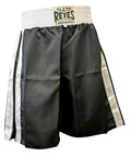 View the Cleto Reyes Boxing Shorts Black/White  online at Fight Outlet