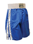 View the Cleto Reyes Boxing Shorts Blue And White  online at Fight Outlet