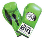 View the Cleto Reyes Green Professional Contest Gloves online at Fight Outlet