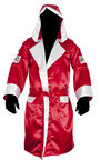 View the Cleto Reyes Hooded Boxing Robe Red online at Fight Outlet