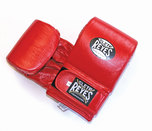 Cleto Reyes Leather Wrap Around Bag Gloves Red