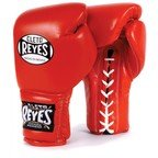 Cleto Reyes Red Lace up Sparring Boxing Gloves