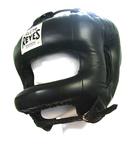 View the Cleto Reyes Rounded Bar Headguard Black online at Fight Outlet
